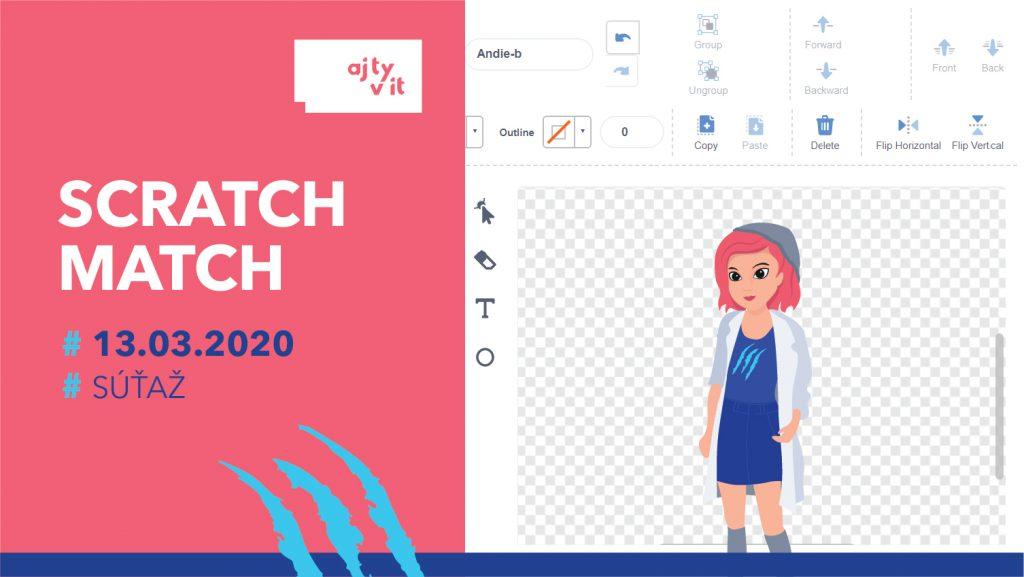 Štartuje štvrty ročník súťaže v kreatívnom programovaní dievčat SCRATCH MATCH 2020 1