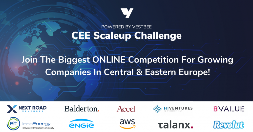 Win 1 Million Euro In ONLINE Competition CEE Scaleup Challenge 1
