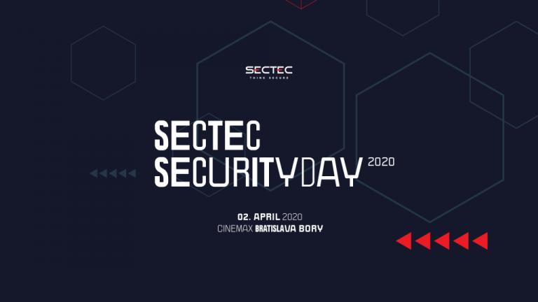 [Súťaž] Registrácia na konferenciu SecTec Security Day 2020 spustená!