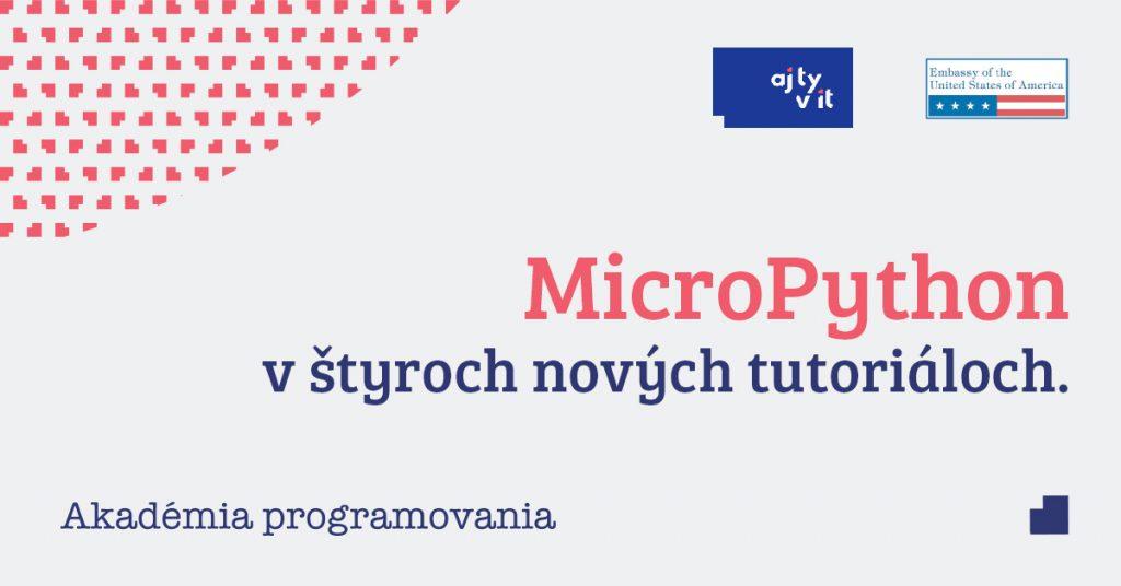 Základy programovania v Micropythone z pohodlia domu 1