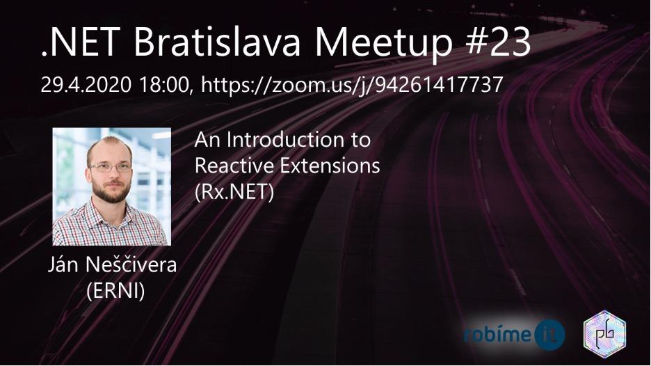 .NET Bratislava Meetup #23 1