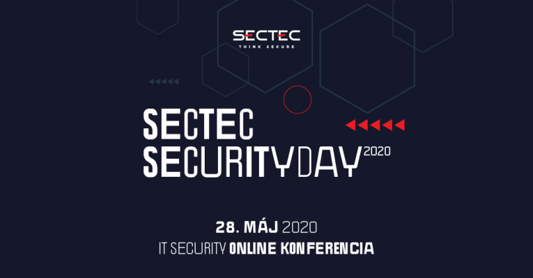 Konferencia SecTec Security Day 2020, ONLINE