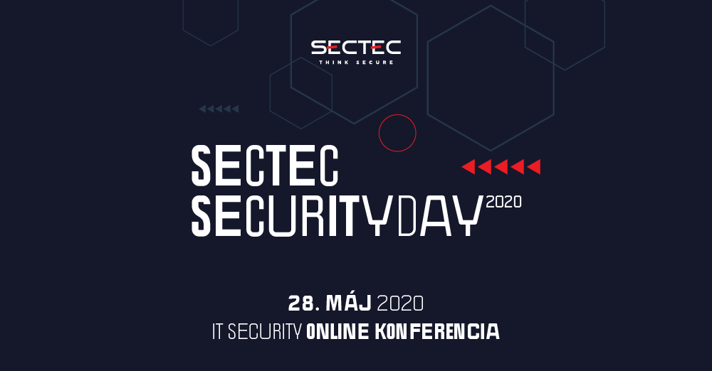 Konferencia SecTec Security Day 2020, ONLINE 1