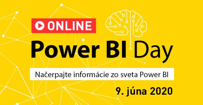 Aké novinky sa dozviete na konferencii Power BI Day ONLINE? 1
