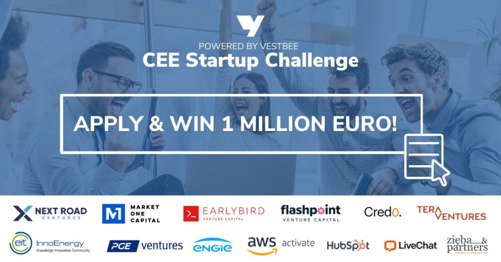 Win 1 Million Euro in the biggest online competition for startups in CEE! 1