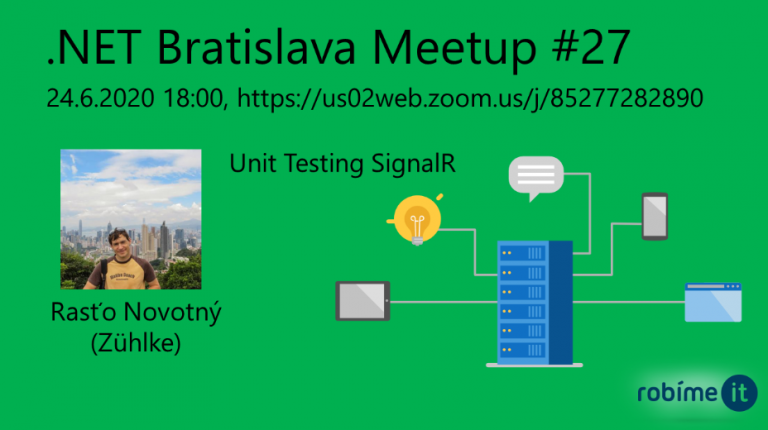 .NET Bratislava Meetup #27