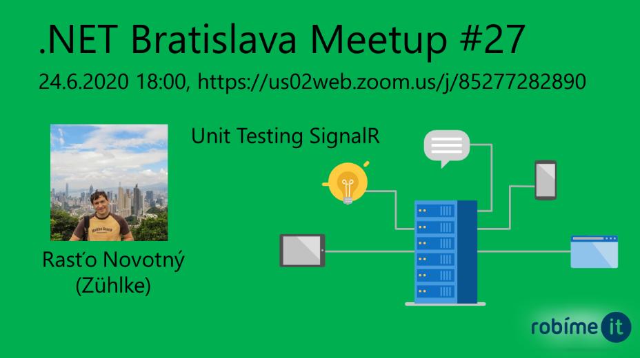 .NET Bratislava Meetup #27 1