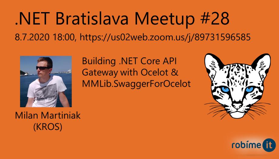 .NET Bratislava Meetup #28 1