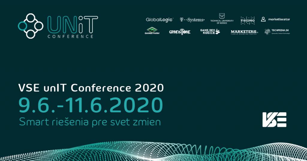 VSE unIT konferencia k vám tento rok prichádza v digitálnej podobe a bezplatne. 1