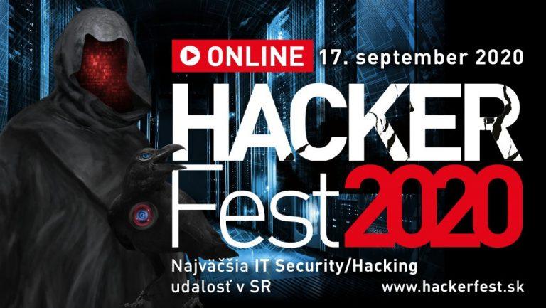 Ubráňte sa nástrahám moderného hackingu! HackerFest 2020 ONLINE
