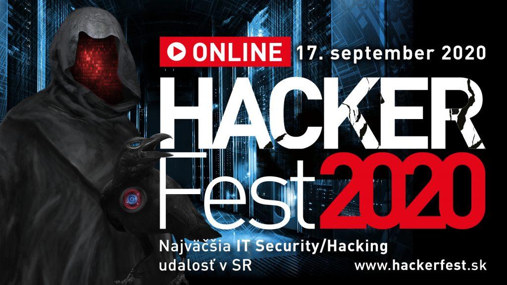 Ubráňte sa nástrahám moderného hackingu! HackerFest 2020 ONLINE 1