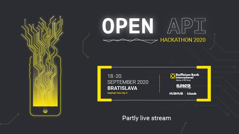 Už si počul o medzinárodnom Open Api Hackathone? 1