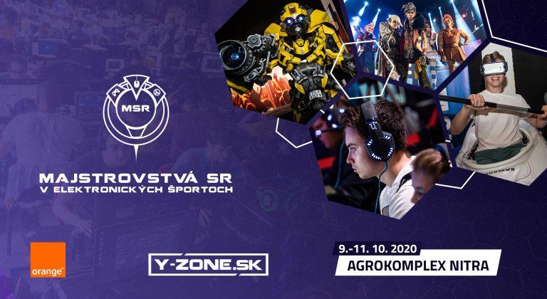 5. ročník Majstrovstiev Slovenska v elektronických športoch sa premiérovo uskutoční v Nitre.