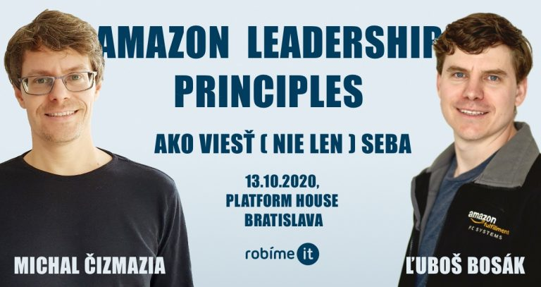 Amazon Leadership Principles – ako viesť (nie len) seba