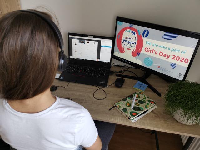 GIRL ́S DAY 2020: Viac ako 400 dievčat z celého Slovenska si vyskúšalo, ako vyzerá práca v IT firmách a organizáciách 1
