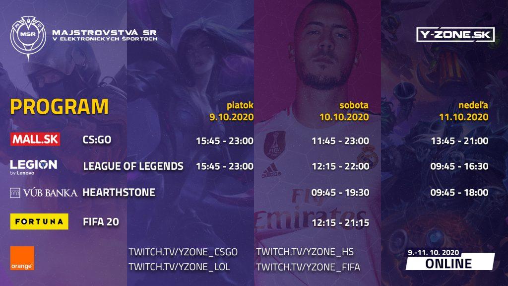 Online finále Orange Majstrovstiev SR v elektronických športoch už 9.-11.10.2020! 3