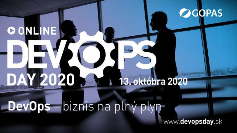 Novinky a trendy v DevOps. Konferencia DevOps Day 2020 ONLINE