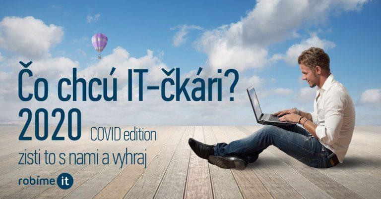 Anketa, čo chcú IT-čkári v práci, a čo zmenil COVID-19