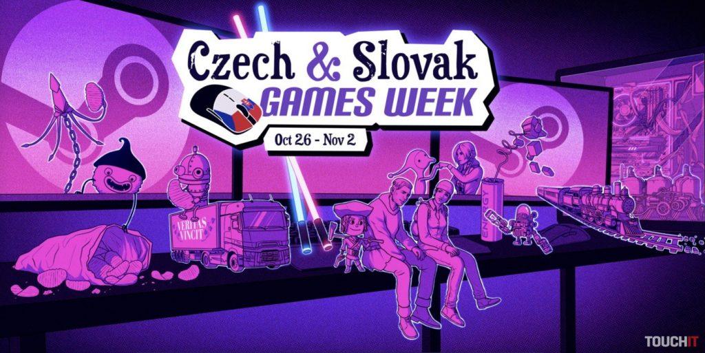 Výročie vzniku Československa oslavujeme špeciálnou akciou na Steame v podobe 165 hier od 72 tvorcov 1