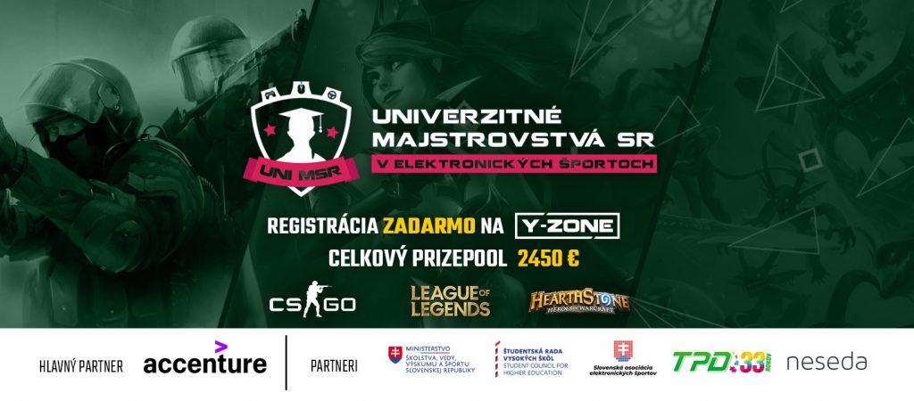 Na UNI MSR s registráciou zadarmo zabojujú študenti o 2450€ a o postup na európsky pohár s prizepoolom 15 000€ 1