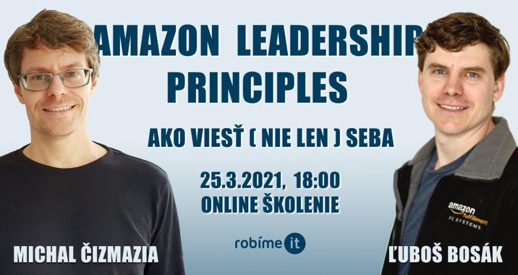 Amazon Leadership Principles - ako viesť (nie len) seba 1