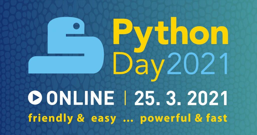 Budúcnosť je jasná, budúcnosť je Python! Nová československá konferencia Python Day 2021! 1