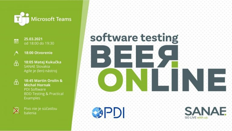 SANAE Software Testing BEER online