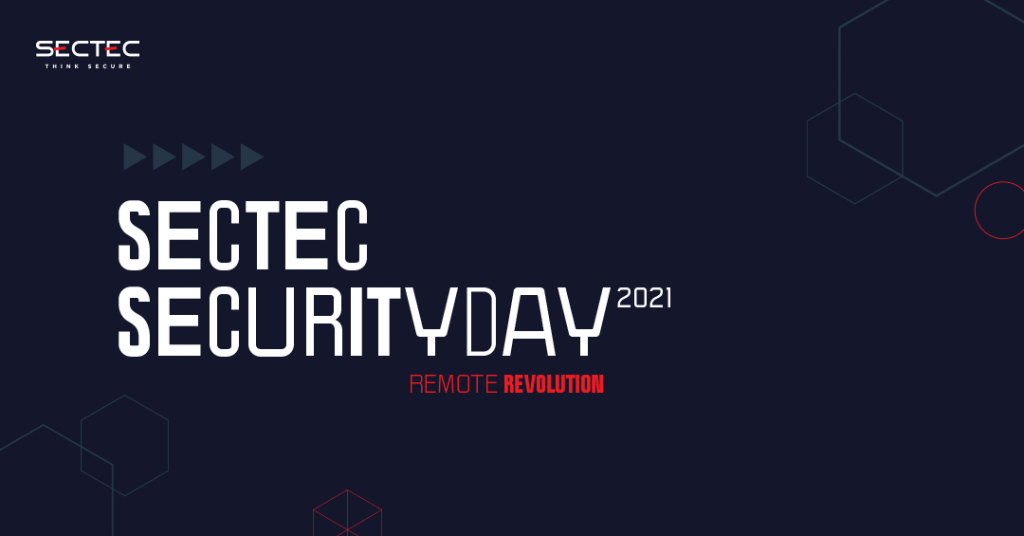 """Týka sa každého z nás - """"Remote Revolution"""" na live konferencii SecTec Security Day 2021! 1"""