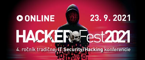 HackerFest 2021 ONLINE – zraniteľnosť webových aplikácií a chyby pri správe cloudu