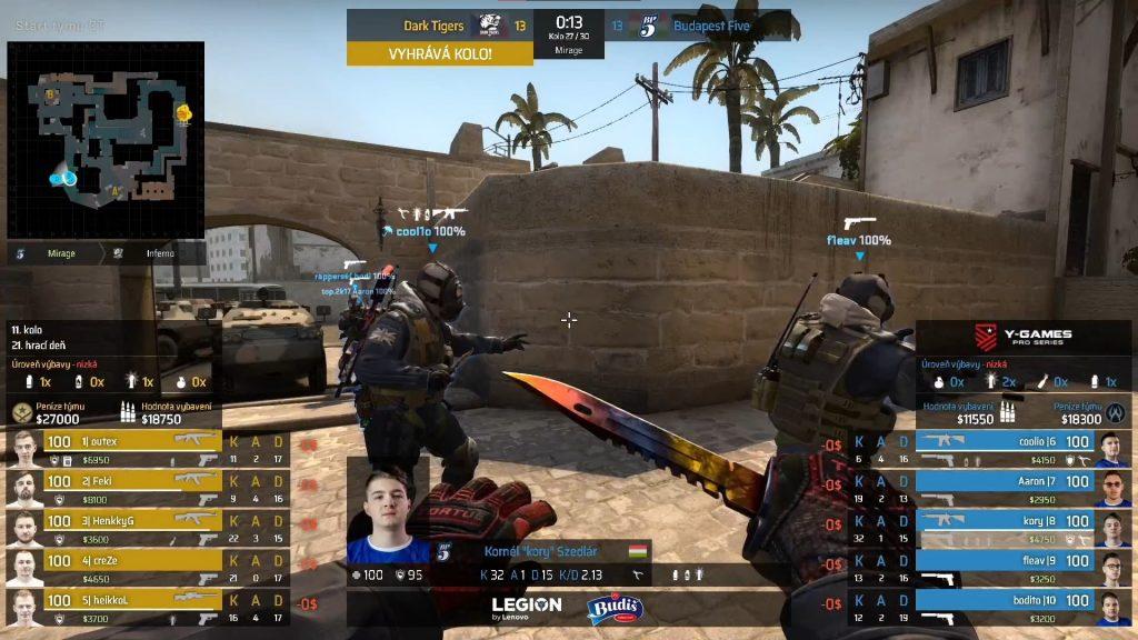 Medzinárodná CS:GO liga Y-Games PRO Series prichádza do finále! Už dnes sa dozvieme ktorý tím si odnesie a najväčší podiel z prizepoolu 22 750€ 1