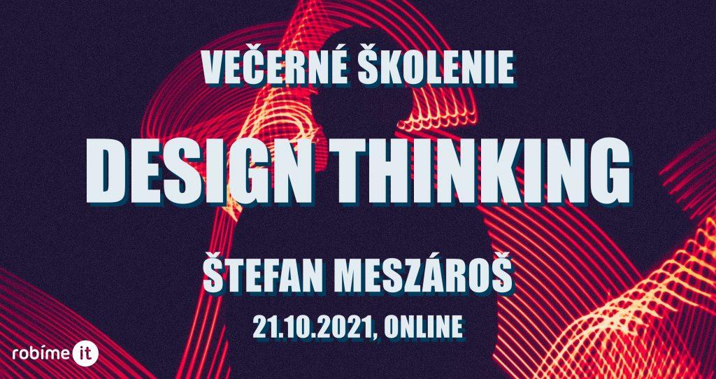 Design thinking, školenie 1