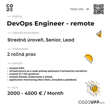 DevOps Engineer – remote 1